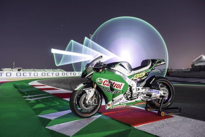 motocykl castrol