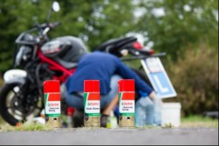 Test produktow do pielegnacji motocykla Castrol