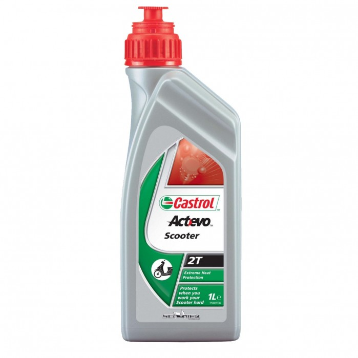 CASTROL Act Evo Scooter 2T