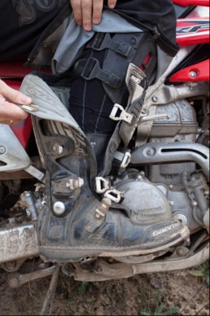 Zapiecie Gaerne SG10 Motocross Boots Black