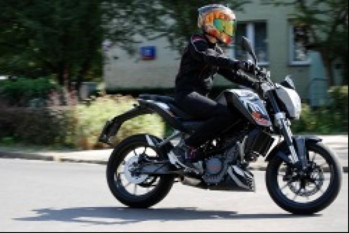 KTM Duke 125 RS Taichi