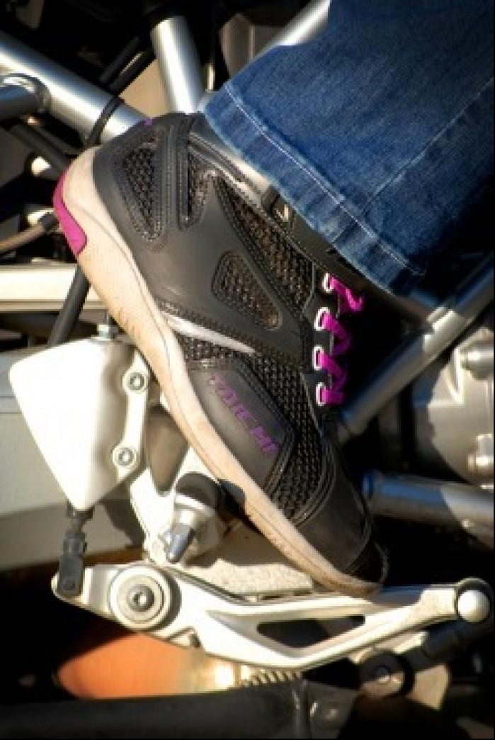 Krotkie buty na motocykl