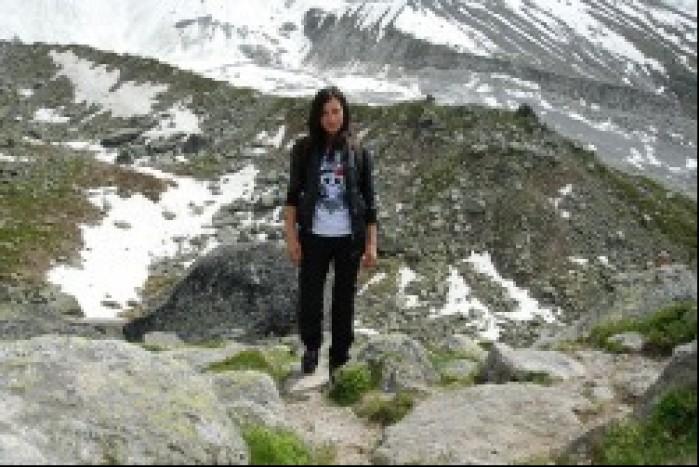 Spacer po gorach