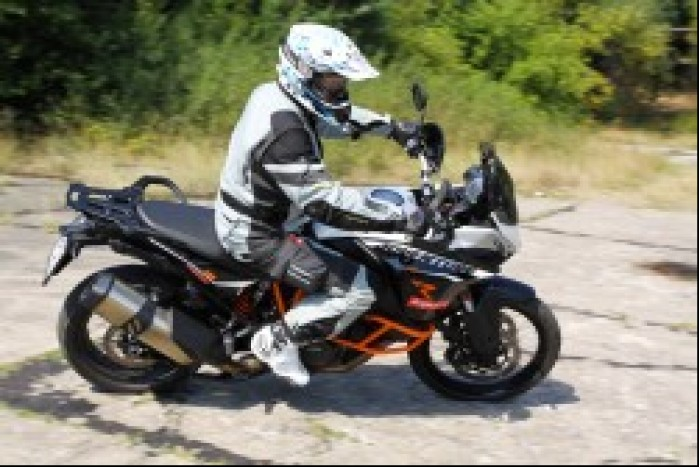 zakret KTM 1190 Adventure