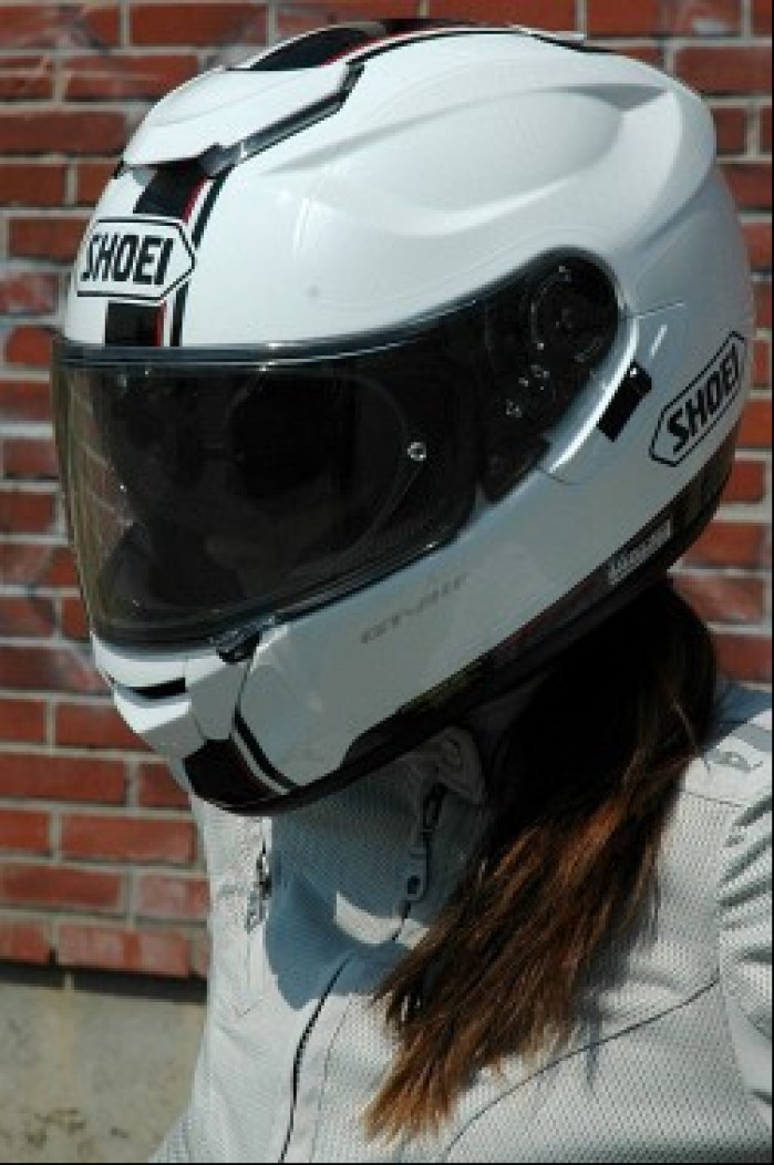 Shoei GT Air bialy