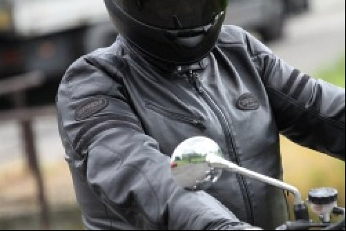 detale na motocyklu
