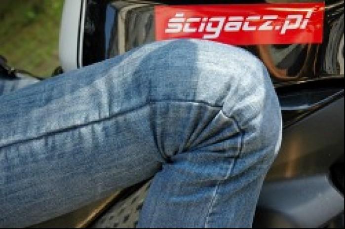 Ochraniacze spodnie jeansowe