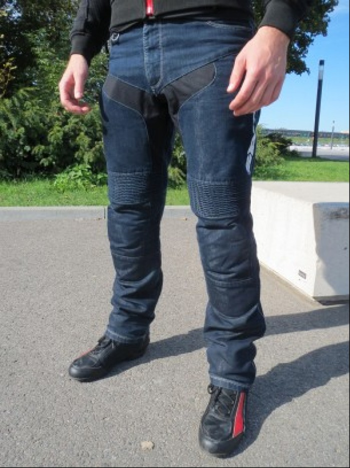 spidi furious denim jeans nogawki