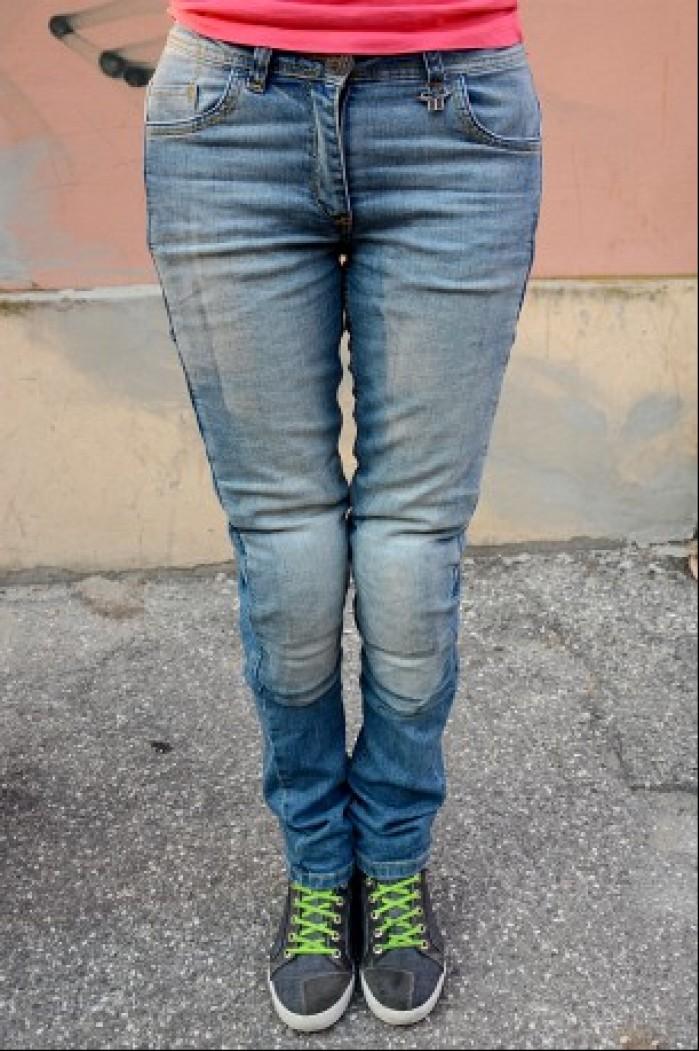 Jeansy motocyklowe dla dziewczyn