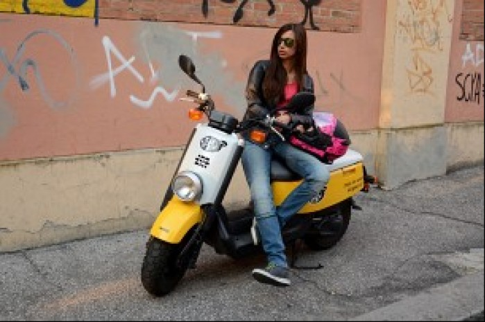 Jeansy motocyklowe na skuter