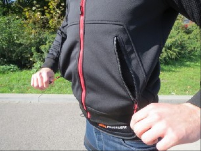 spidi hoodie armor kieszenie
