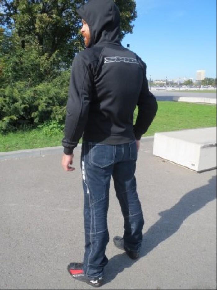 spidi hoodie armor plecy