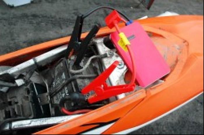Akumulator rozruchowy K23 na motocyklu