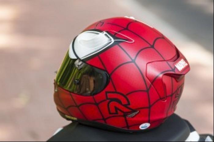 hjc rpha 11 spiderman seria marvel