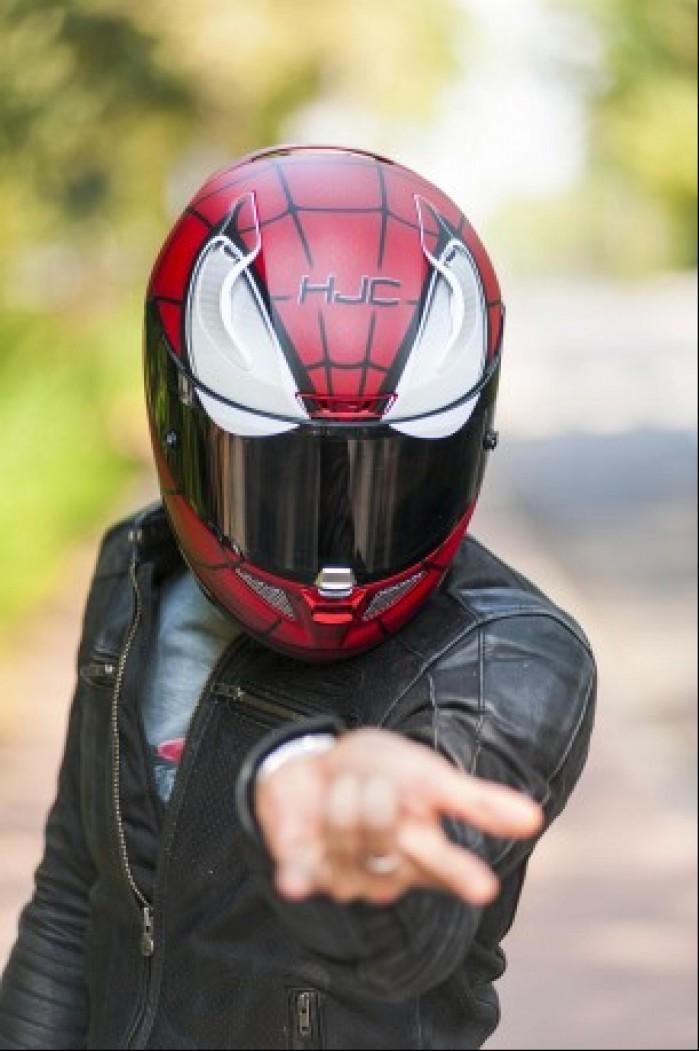 hjc spiderman