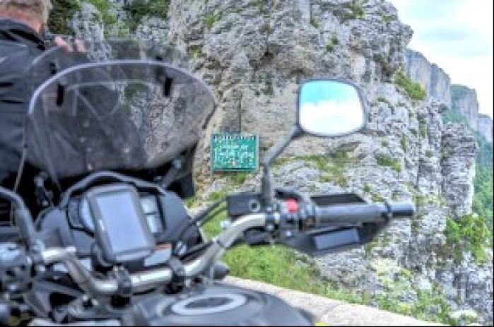 TomTom Rider 550 w trasie