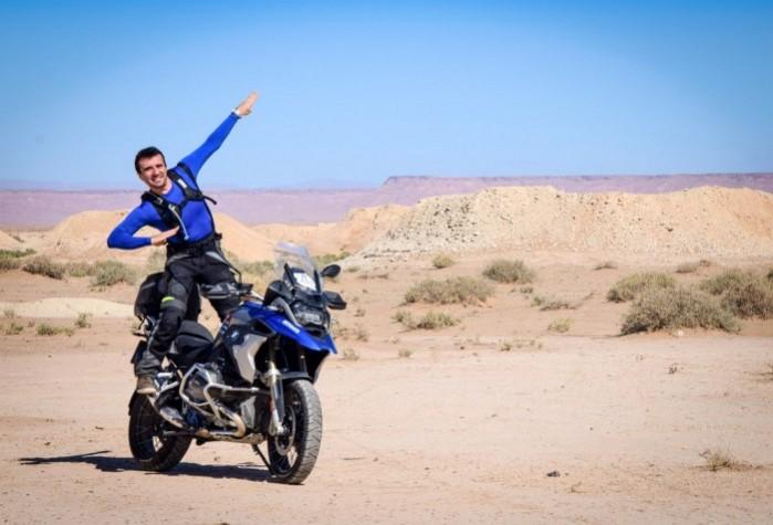 Maroko 2 bmw gs