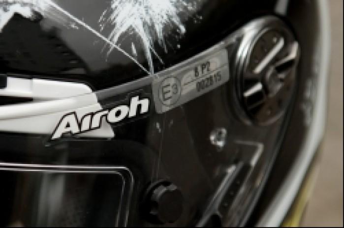 Airoh GP homologacja wizjera