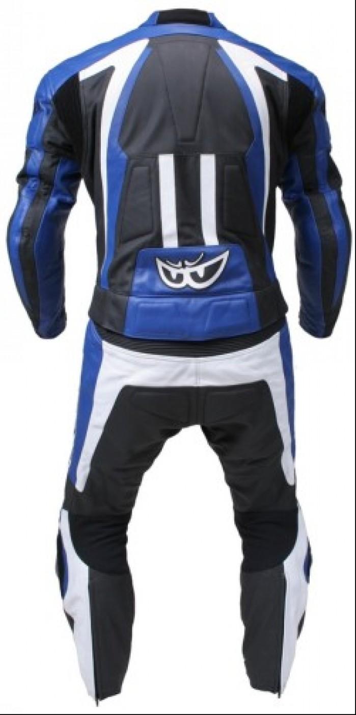 BERIK LS2 5904 BK BLUE BLACK WHITE BACK