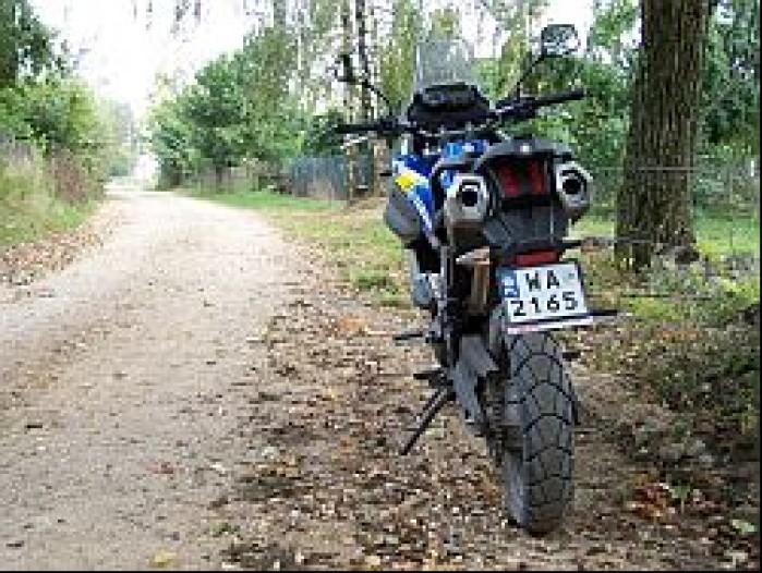 Wycieczka motocyklowa Jesien m