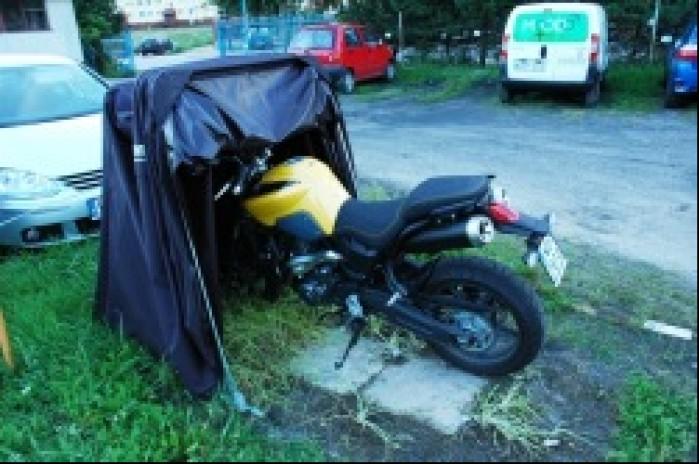Namiot na motocykl