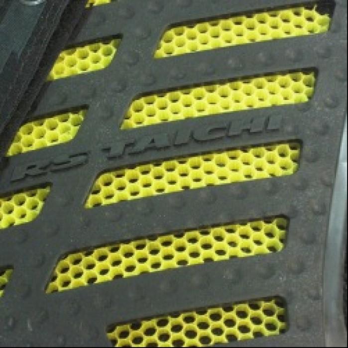RS Taichi 2czesciowy protektor o strukturze plastra miodu Honeycomb