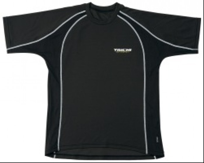 RS Taichi koszulka Cool Ride krotki rekaw BLK oki