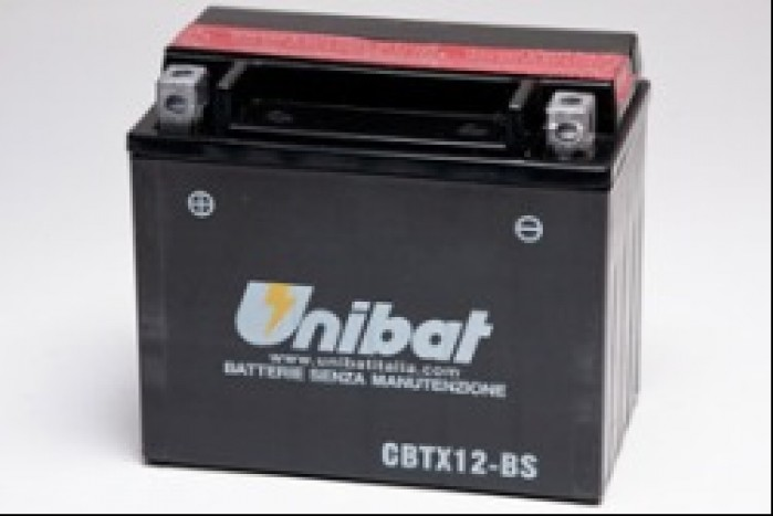 Unibat CBTX12-BS akumulator motocyklowy