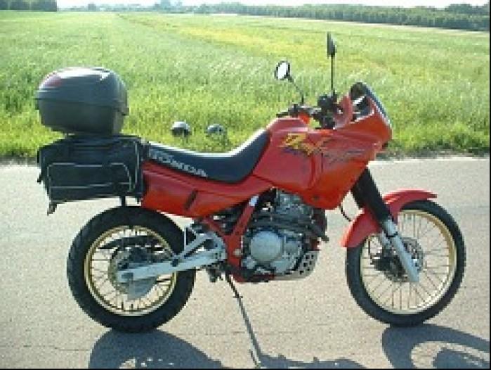 motocykl z instalacja LPG