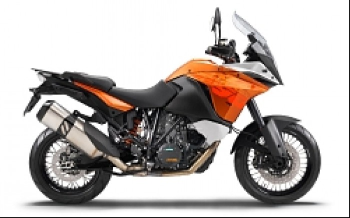 KTM 1190 Adventure 2013 Orange