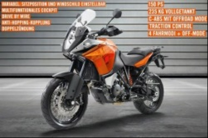 KTM Adventure 1190 oficjalne zdjecie