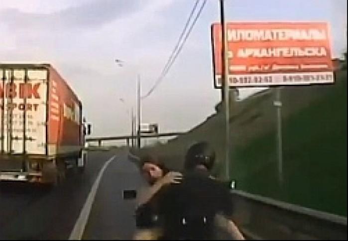 seks na motocyklu m