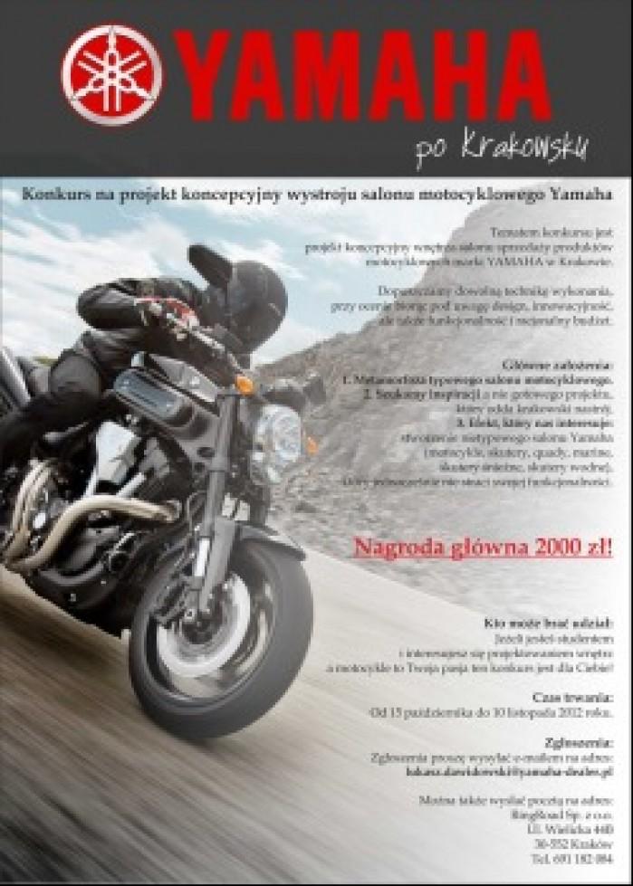 plakat Yamaha