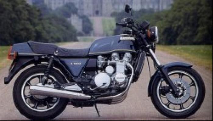 Kawasaki Z1300 z boku