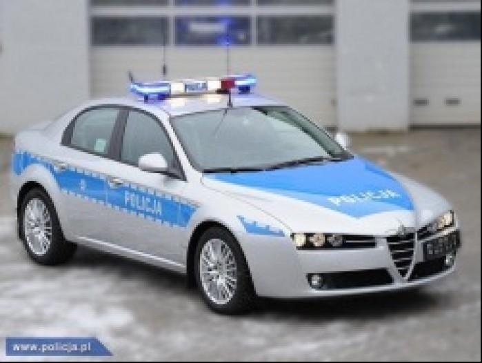 alfa romeo 159 policja