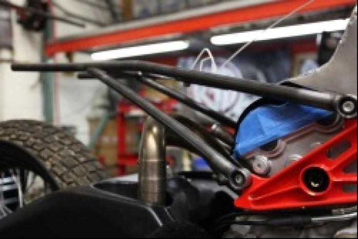 sekcja tylna RSD Ducati Desmosedici