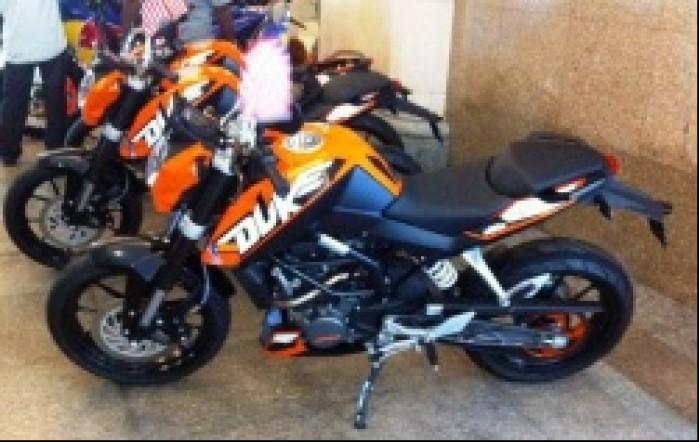 Duke 200 maly KTM
