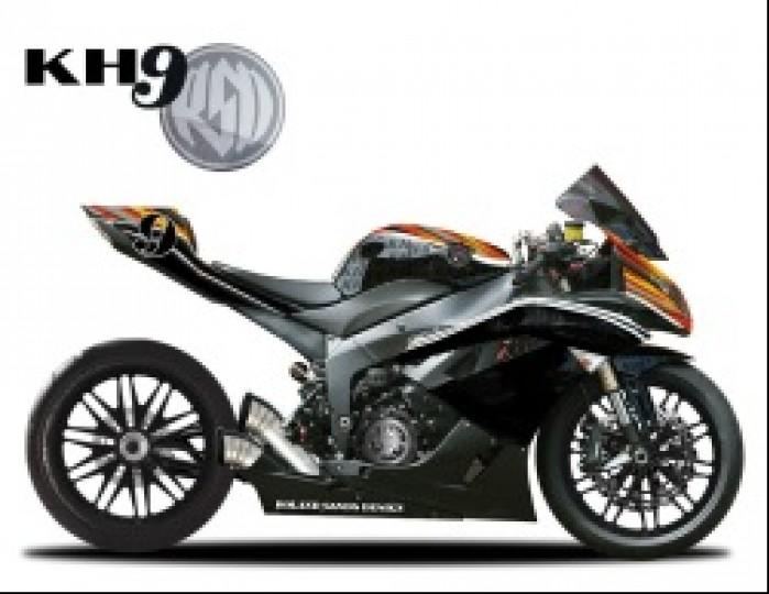 Roland Sands Design KH9 profil Kawa zx6r