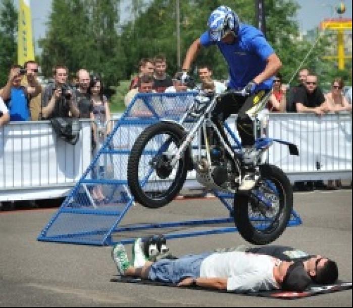 nad chetnymi sherco team - Motocyklowa Niedziela na BP w Warszawie 2011
