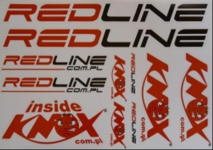Naklejki Redline i Knox