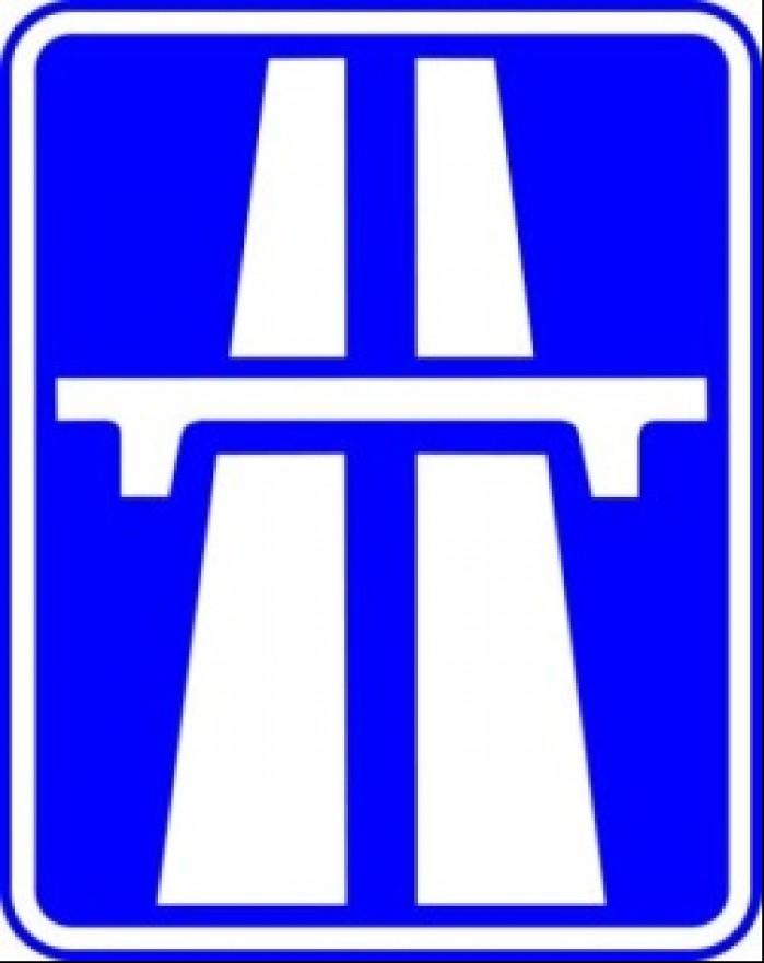 autostrada znak