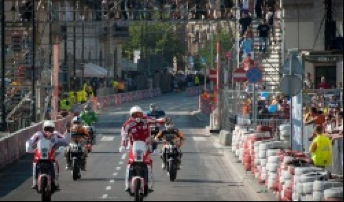 Motocyklisci Orlen Team Street Racing