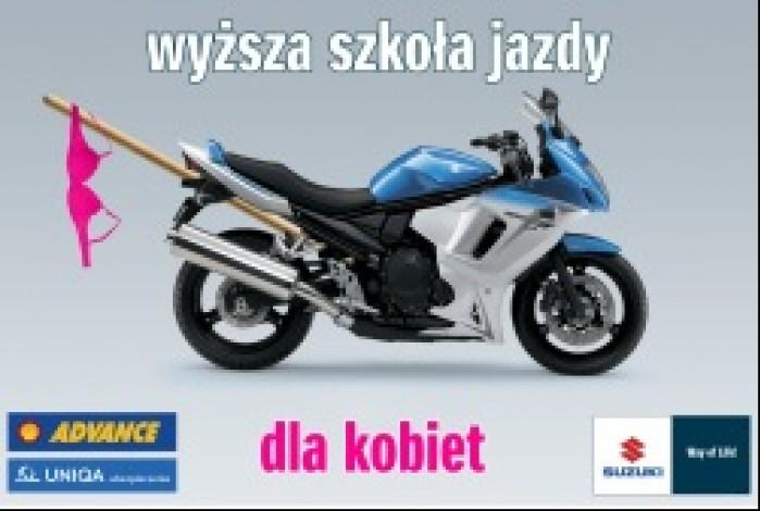 Suzuki Shell Moto Szkola dla kobiet