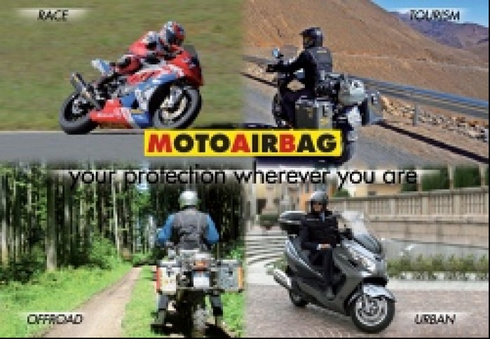 Motoairbag protection