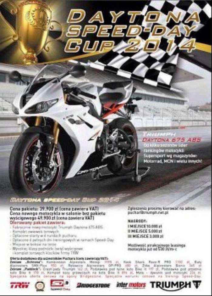 Triumph Daytona Cup plakat