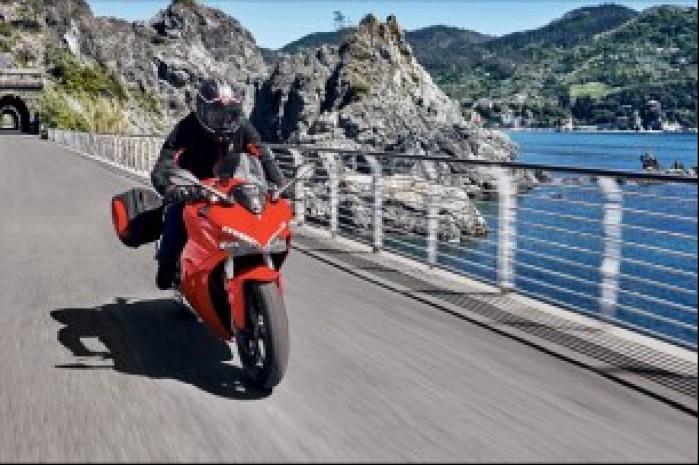 Ducati Supersport w akcji