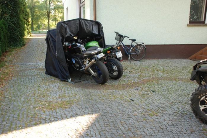 MOTOTENT NAMIOT GARAZ MOTOCYKLOWY duzy