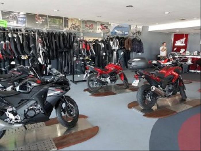 salon motocyklowy Honda