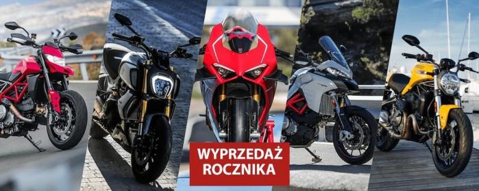 Wyprzedaz rocznika Ducati