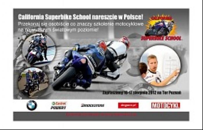 California Superbike School tor Poznan